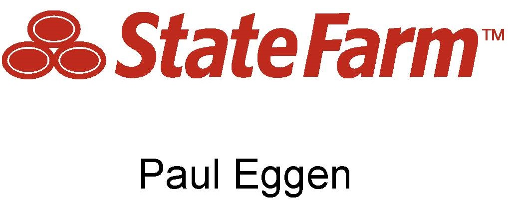 paul eggen state farm logo white